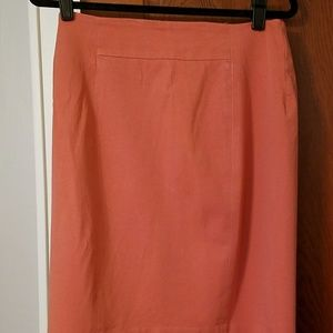 Loft Curvy Fit Skirt
